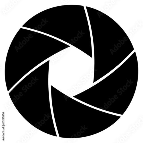 Photo Illustration of camera lens aperture ring