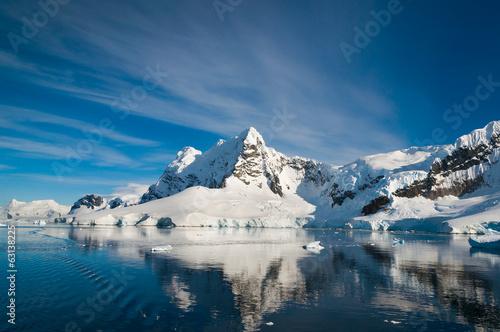 Foto auf Gartenposter Antarktika Paradise Bay Antarctica