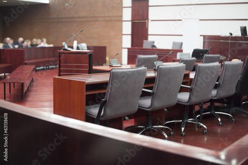 Obraz court house interior - fototapety do salonu
