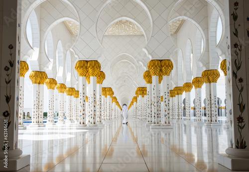 Spoed Foto op Canvas Abu Dhabi Mosque