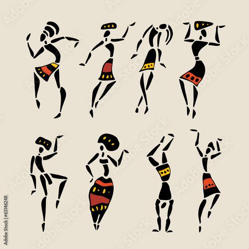 zestaw-afrykanskiej-sylwetki