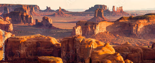 Canvas Prints Arizona American West Panorama, Monument Valley