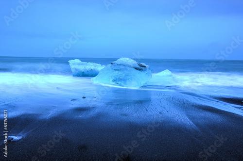 Printed kitchen splashbacks Glaciers Glacier lagoon, Jokulsarlon, Iceland