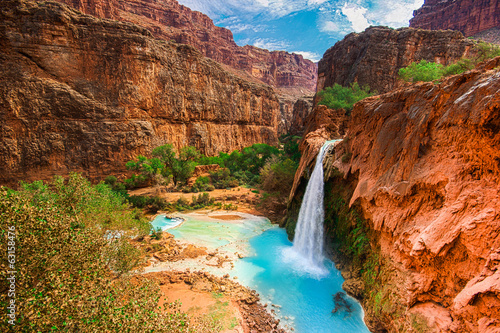 Foto op Canvas Natuur Park Havasu Falls, Havasupai Indian Reservation