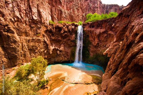 Fotobehang Natuur Park Mooney Falls, USA