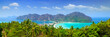 canvas print picture Panorama of Phi phi island, Krabi, Southern of Thailand.