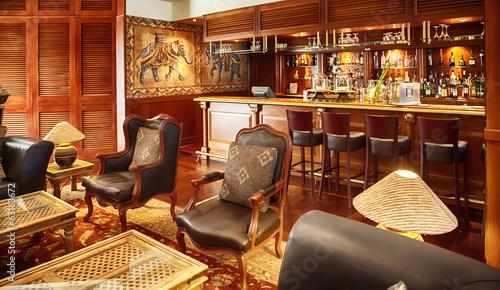 Fotografía  bar in colonial style