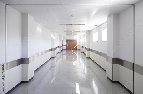 Foto Hall of deep hospital