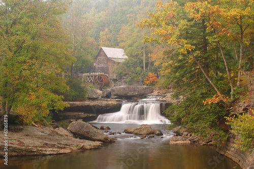 Photo Stands Mills Glade Creek Grist Mill
