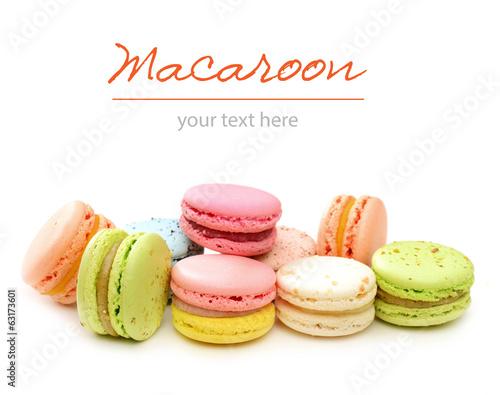 Poster Macarons macaroon