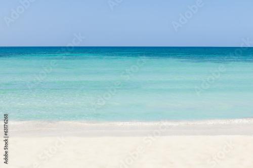 Aluminium Prints Beach Tranquil View Of Beach