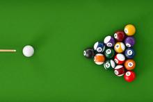 Glossy Billiard Balls Set