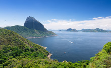 The Mountain Sugar Loaf And Guanabara Bay In Rio De Janeiro