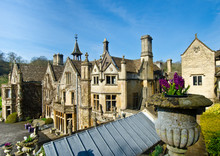 Manor House In Castle Combe, W...