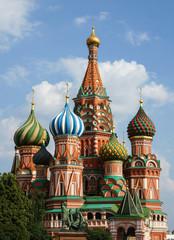 Fototapeta na wymiar Domes of Saint Basil's Cathedral