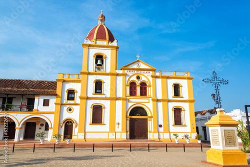 Spoed Foto op Canvas Zuid-Amerika land Mompox Church