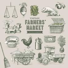 Farmers' Market - Set Of Nosta...