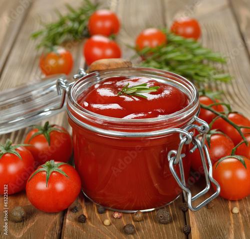 Fotografía  tomato sauce