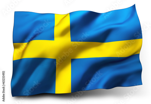 Fotografía  flag of Sweden