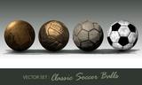 Fototapeta Sport - classic soccer ball