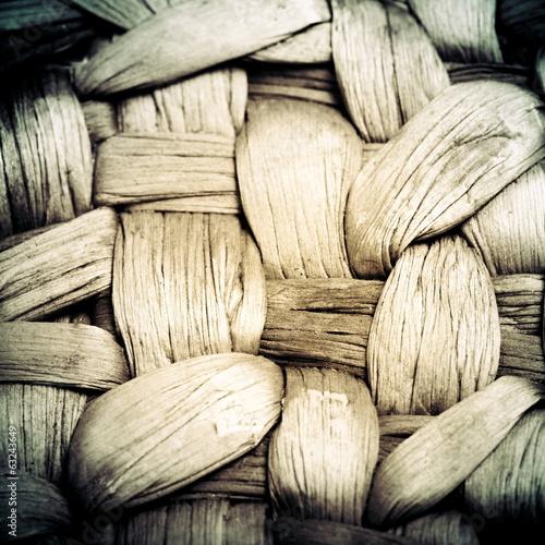 Basket texture, vintage background