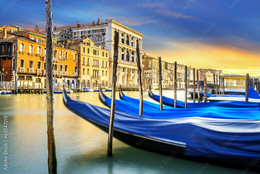 Fototapety, obrazy: Grand Canal in Venice, Italy