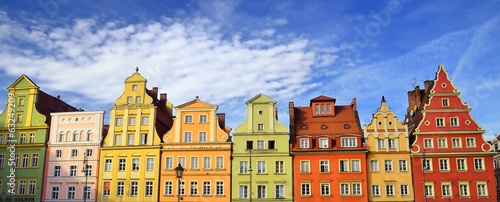 fototapeta na szkło Wrocław - Stare Miasto