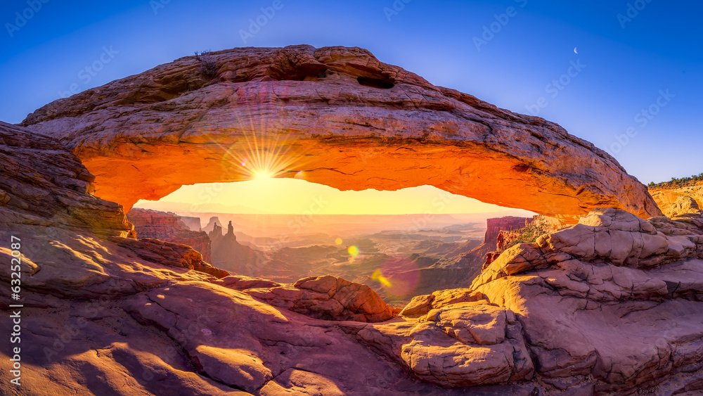 Fototapety, obrazy: Mesa Arch Panorama