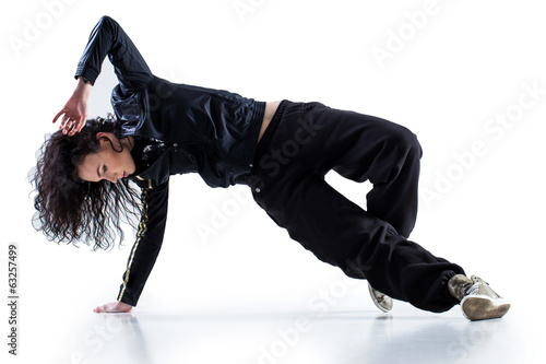 Fotografie, Obraz  Hip-hop dancer
