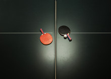 Table Tennis Table And Ping Po...