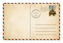 Old Style Postcard Or Envelope...