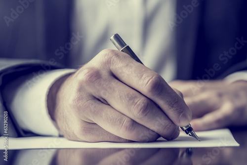 Photo Writing correspondence
