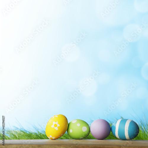 Photo Easter eggs i