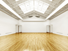 Commercial Interior With Hard ...
