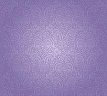 Violet Vintage Seamless Floral...