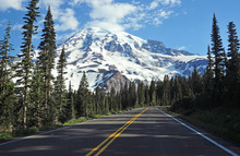 Approaching Mount Rainier, Was...