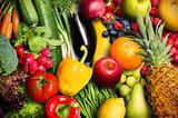 Fototapeta Fototapety do kuchni - Vegetables and Fruit