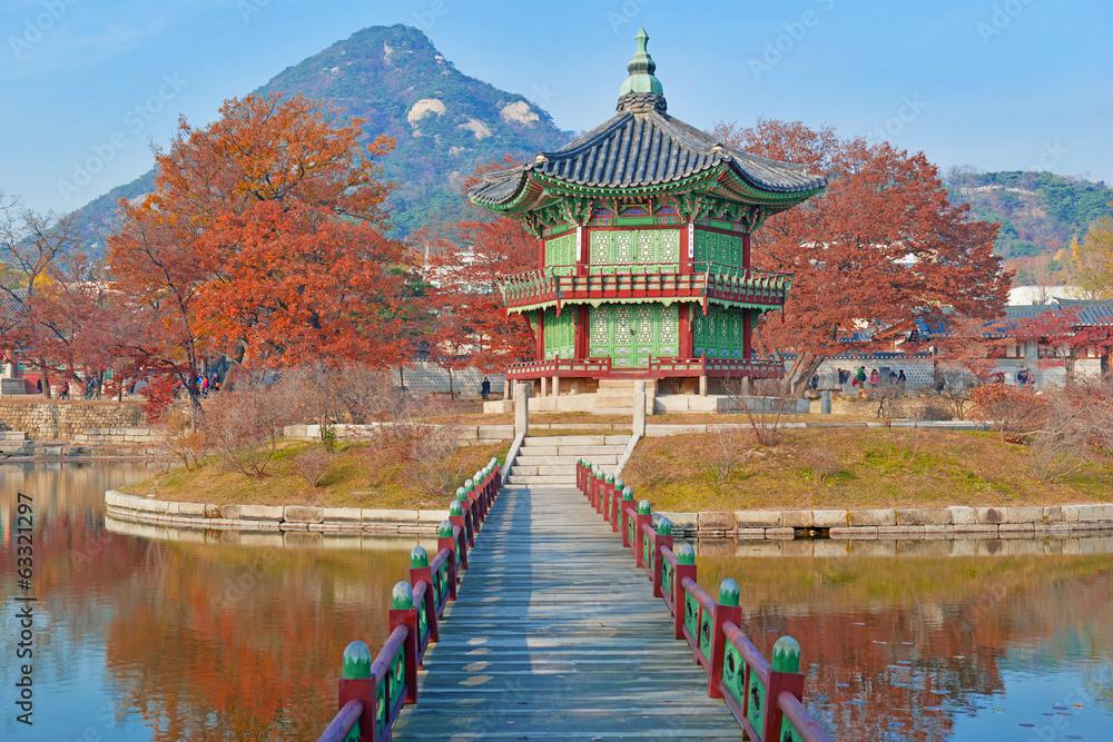 Stampe  Gyeongbokgung Palace, Seoul, South Korea