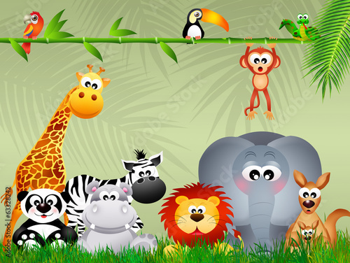 grupa-zwierzat-z-dzungli