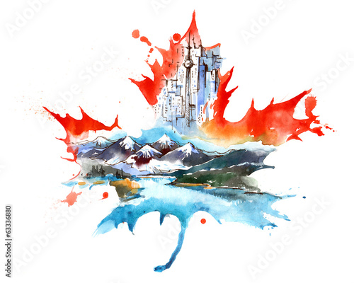 Canada Wall mural