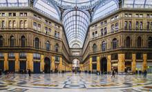 Naples - Inside The Principe Umberto I Gallery