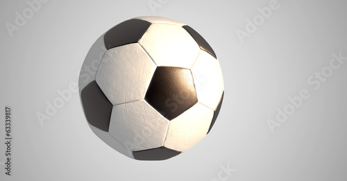 Retro Fussball Render Sonne Buy This Stock Illustration