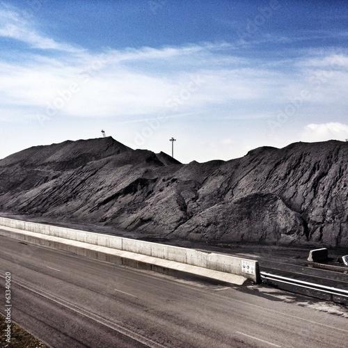 Foto op Aluminium Arctica coal