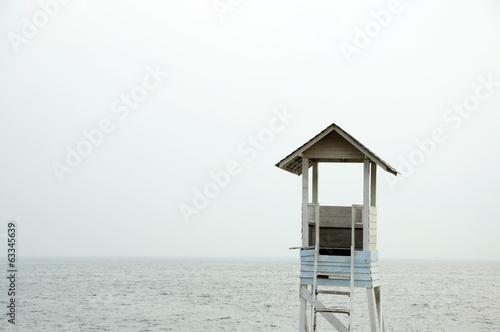 Valokuva  Lifeguard station
