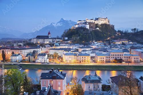 Vászonkép  Salzburg, Austria.