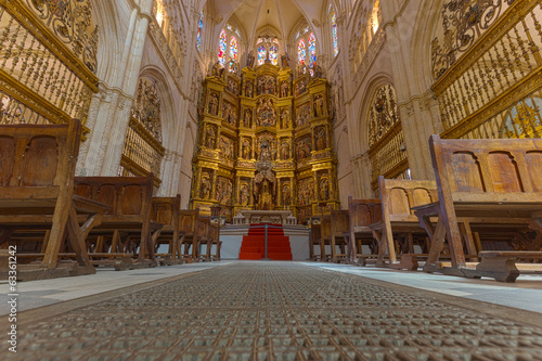 Burgos Cathedral, the Altar, a Spanish World Heritage