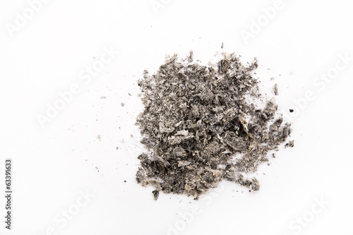 Photo cigarette ash