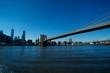 Brooklyn Bridge to Manhattan