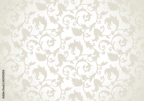 Royal seamless vector wallpaper Fototapete