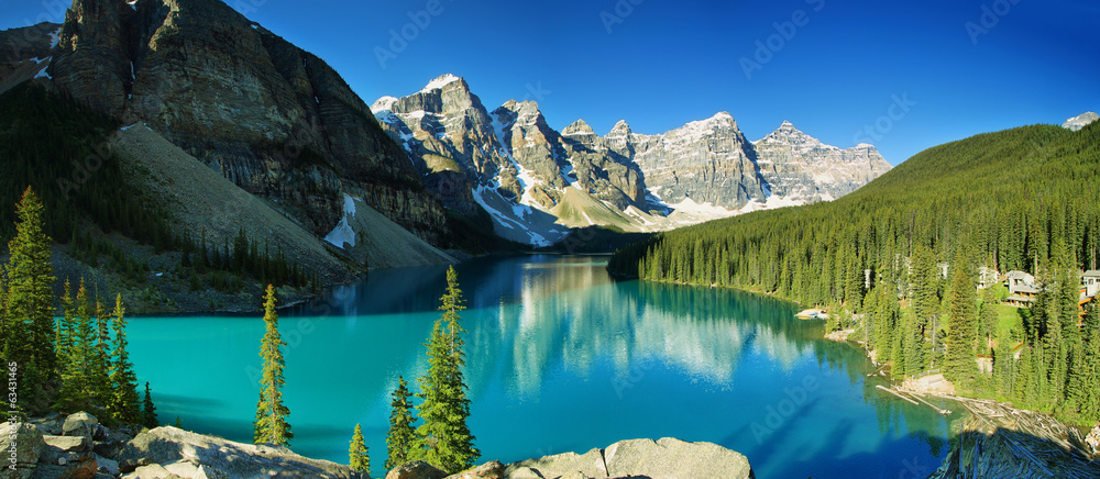 Fototapeta Lake Moraine, Banff national park
